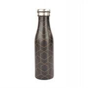 Termo steklenička Bottle&More, 450 ml, črte