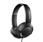 Slušalke Philips Bass+, žične, črne
