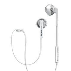 Slušalke Philips SHB5250WT, brezžične, bele