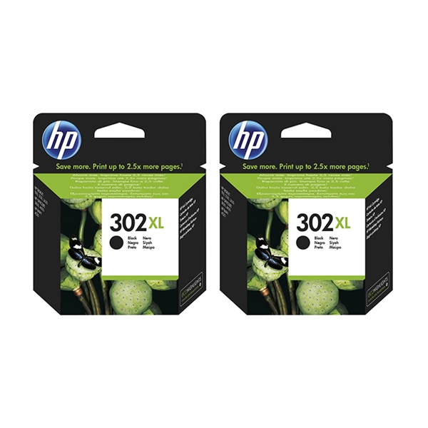 Kartuša HP F6U68AE nr.302XL (črna), dvojno pakiranje, original