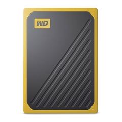 Zunanji prenosni SSD disk WD My Passport Go, 1 TB, rumen