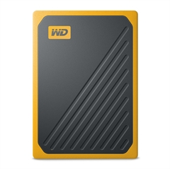Zunanji prenosni SSD disk WD My Passport Go, 500 GB, oranžen