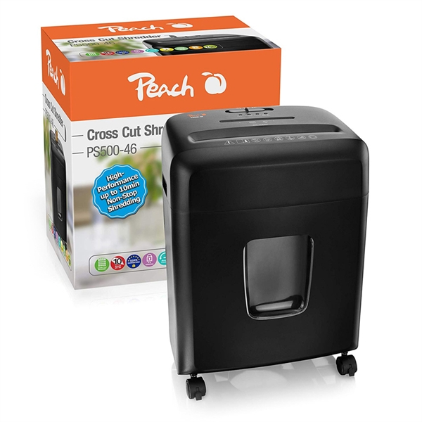Uničevalnik dokumentov Peach PS500-46 (4 x 32 mm), P-4