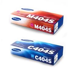 Komplet tonerjev Samsung CLT-C404S (modra) + CLT-M404S (škrlatna)