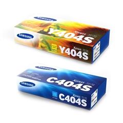 Komplet tonerjev Samsung CLT-C404S (modra) + CLT-Y404S (rumena)