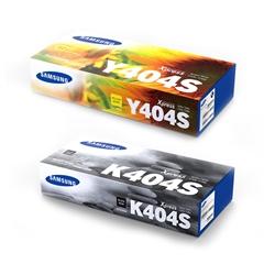 Komplet tonerjev Samsung CLT-K404S (črna) + CLT-Y404S (rumena)