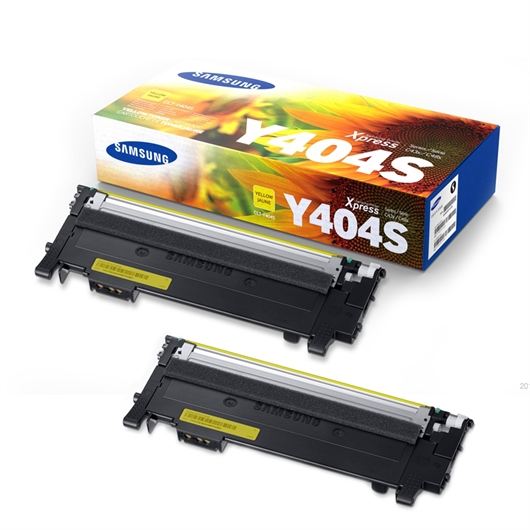 Komplet tonerjev Samsung CLT-Y404S (SU444A) (rumena), dvojno pakiranje, original