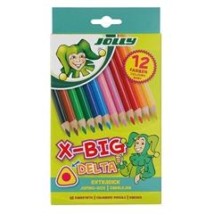 Barvice Jolly X-Big Delta, 12 kosov
