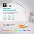 Namizna LED svetilka TaoTronics RGB TT-DL070, bela