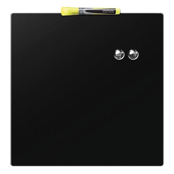 Magnetna tabla Nobo Quarter  36 x 36 cm, črna