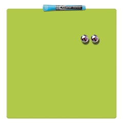 Magnetna tabla Nobo Quarter  36 x 36 cm, zelena