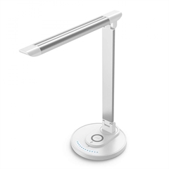 Namizna LED svetilka TaoTronics TT-DL043, brezžično polnjenje, bela