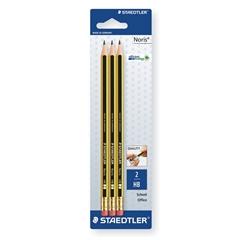 Grafitni svinčnik Staedtler Noris 120, HB, 3 kosi