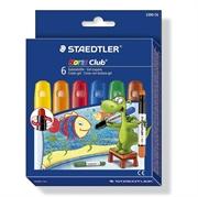 Voščene barvice Staedtler Noris Club, osnovne barve, 6 kosov
