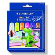 Voščene barvice Staedtler Noris Club, gel, intenzivne pastelne barve, 6 kosov