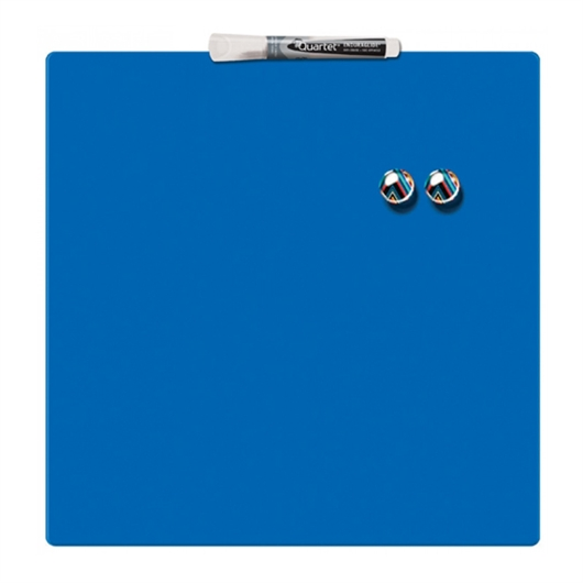 Magnetna tabla Nobo Quarter  36 x 36 cm, modra
