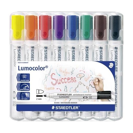 Marker Staedtler Lumocolor 351 WP8 2 mm, 8 barv