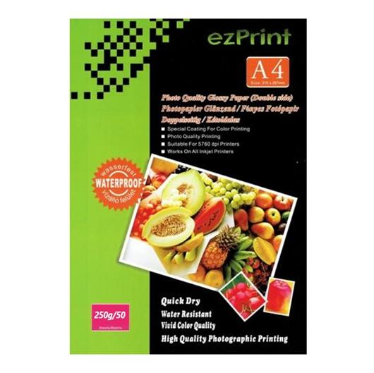 Foto papir Glossy Laser A4, 50 listov, 250g