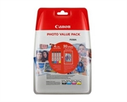 Poškodovana embalaža: komplet kartuš Canon CLI-571 XL (BK/C/M/Y), original + papir (0332C005AA)