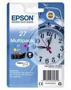 Komplet kartuš Epson 27 (C13T27054012) (C/M/Y), original