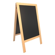A-tabla Securit Deluxe, 138 x 70 cm, lesena