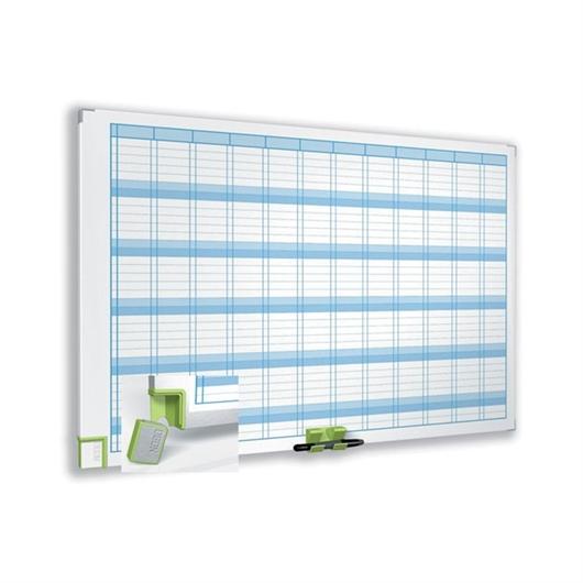 Magnetna tabla Nobo letni planer, 60 x 90 cm