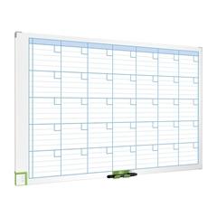 Magnetna tabla Nobo mesečni planer, 60 x 90 cm