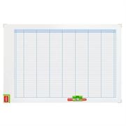 Magnetna tabla Nobo tedenski planer, 60 x 90 cm