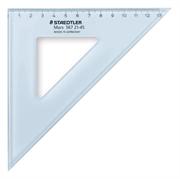 Trikotnik Staedtler, 45°, 21 cm, moder
