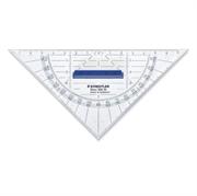 Trikotnik Staedtler z držalom, 16 cm