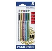 Flomaster Staedtler Metalic, 5 kosov