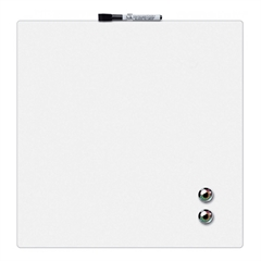 Magnetna tabla Nobo Quarter  36 x 36 cm, bela