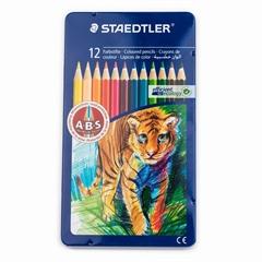 Barvice Staedtler ABS, živali, 12 kosov