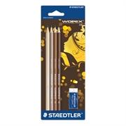 Grafitni svinčnik Staedtler Wopex, HB, 4 kosi