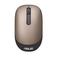 Miška Asus WT205, brezžična, optična, zlata