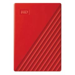 Zunanji prenosni disk WD My Passport 2019, 2 TB, rdeča