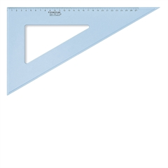 Trikotnik Staedtler, 60/30°, 31 cm, moder