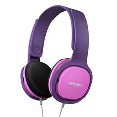 Slušalke Philips SHK2000PK, žične, roza