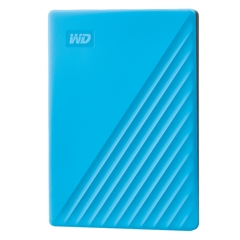 Zunanji prenosni disk WD My Passport 2019, 2 TB, modra