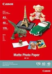 Foto papir Canon MP-101, A3, 40 listov, 170 gramov