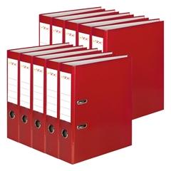 Registrator QBO A4/50 (rdeča), samostoječ, 10 kosov