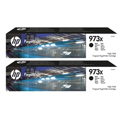 Kartuša HP L0S07AE nr.973X (črna), dvojno pakiranje, original