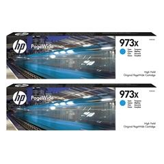 Kartuša HP F6T81AE nr.973X (modra), dvojno pakiranje, original