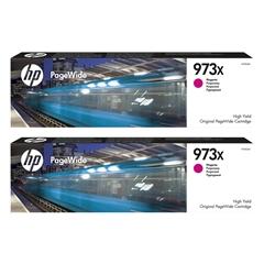 Kartuša HP F6T82AE nr.973X (škrlatna), dvojno pakiranje, original