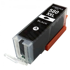 Kartuša za Canon PGI-580PGBK XXL (črna), kompatibilna