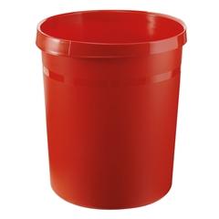 Koš za smeti Han Grip, 18 L, rdeč