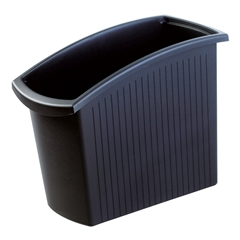 Koš za smeti Han Mondo, 18 L, črn