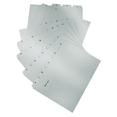 Ločilni listi za kartotečne kartice Han, A4