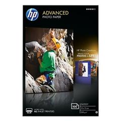Foto papir HP Q8692A, A6, 100 listov, 250 gramov