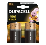 Baterija Duracell D-velikost LR20, 2 kosa